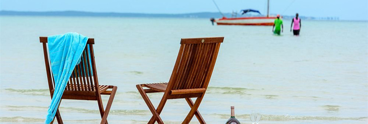 Romantic beach paradise in Mozambique