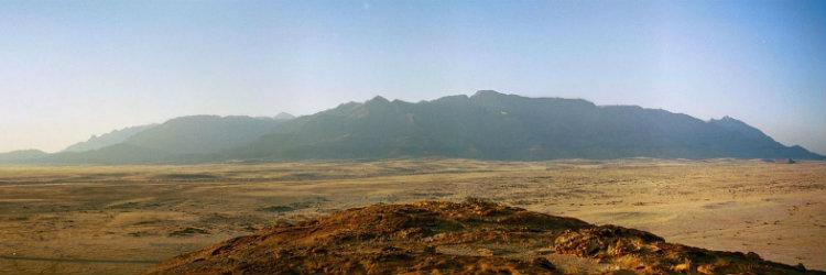 The Brandberg Mountains, Namibia
