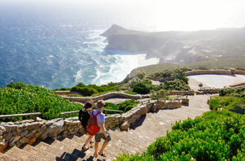 View Point at Cape Peninsula, near Cape Town