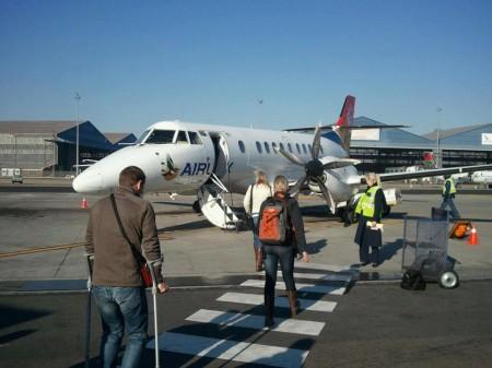 Leaving KMIA airport
