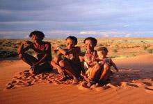 Bushmen on Overland Tour