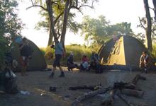 Camping Safari Botswana