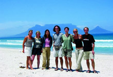 Overland Tour departing Cape Town