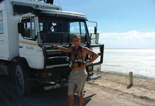 Overland Truck, Botswana