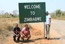 Overland Tour ending in Vic Falls