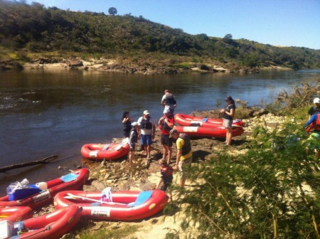 South African River Rafting