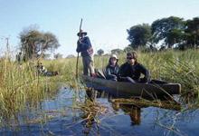 Okavango Delta - Mokoro ride