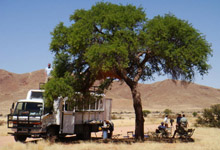 Overland Truck, Namibia