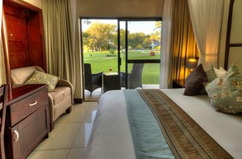 Room Interior, A'Zambezi River Lodge