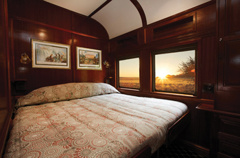 Accommodation on the Shongololo Express