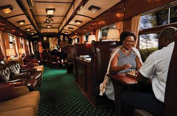 Dining car - Shongololo Express