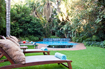 Gardens at African Rock Hotel