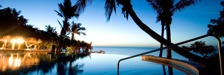 Bazaruto Island Resort, View from Pool, Mozambique