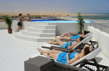 The Beach Hotel swimming pool, Swakopmund