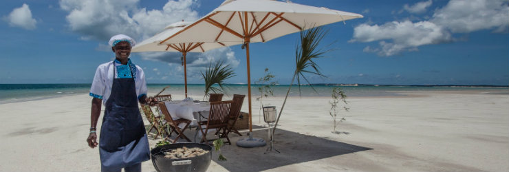 Bahia Mar in Mozambique, the ideal beach honeymoon destination