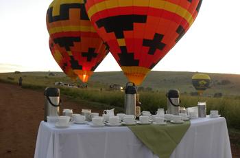 Tea & Coffee before launch