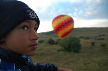 Hot Air Ballooning near Johannesburg