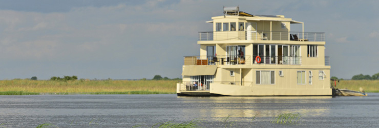 Chobe Princess on the Chobe River
