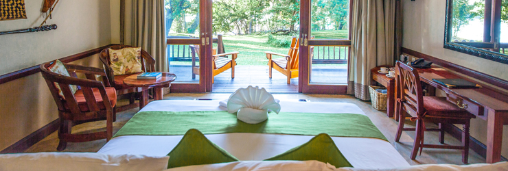 Chobe Safari Lodge, Room Interiors