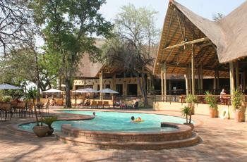 Swimming Pool, Chobe Safari Lodge, Botswana