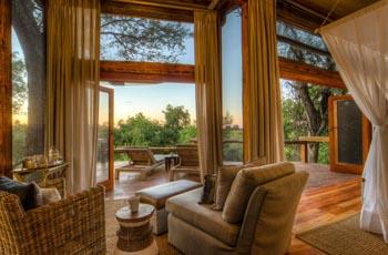 Room Interior, Camp Okavango