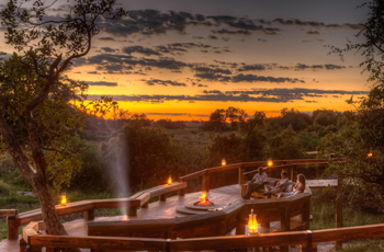 Some of the best sunsets can be seen in Botswana's Okavango Delta