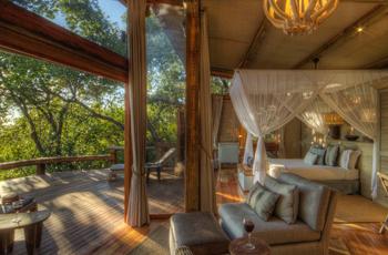 Luxury Safari Tent, Camp Okavango, Botswana
