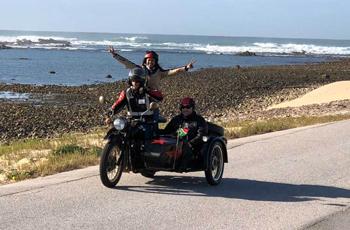 Side Car Adventure on your honeymoon