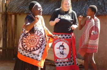 A visit to a cultural village, Swaziland