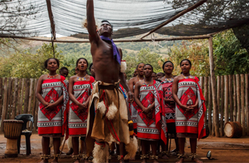 Witness to a cultural event, Swaziland