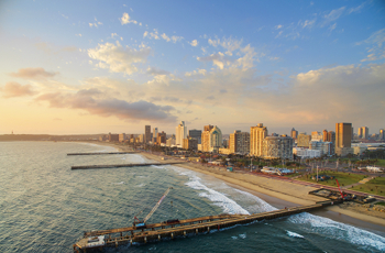 Durban city is nearby and has a host of activities to offer