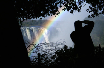 Walking Tour of the various view points at Victoria Falls, Zimbabwe