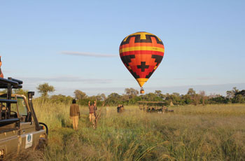 Hot Air Balloon Safari, Okavango Delta, Air Ventures