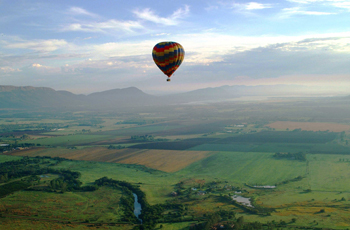 Hot Air Balloon Safari, Bill Harrops, South Africa