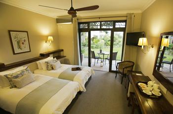 Room interior at Ilala Lodge