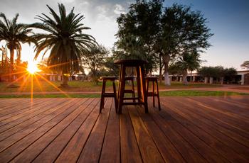 Sunset at Kalahari Anib Lodge, Namibia