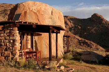 Rock Chalet at Klein Aus Vista, Namibia