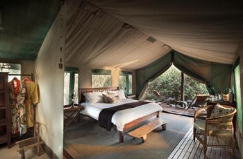 Kanga Camp, Tent Interior
