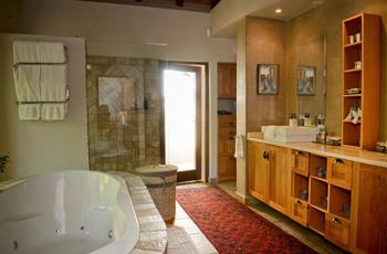 Bathroom interior, Kaya Ndlovu