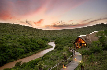 The Great Fish River, Kwandwe Private Game Reserve