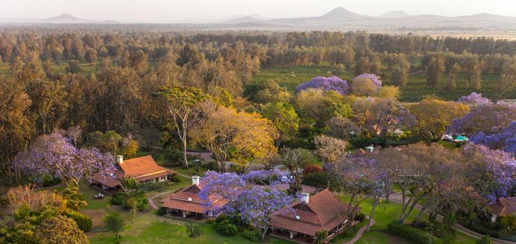 Legendary Lodge outside Arusha, Tanzania