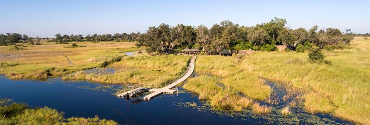Little Vumbura, Okavango Delta