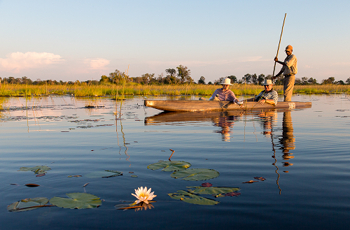 A mokoro excursion is a great way to explore the waterways