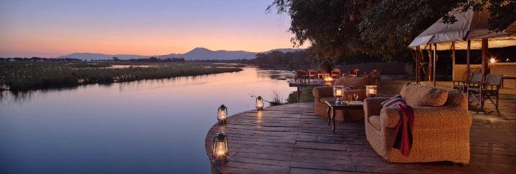 Early evening, Lower Zambezi National Park, Zambia