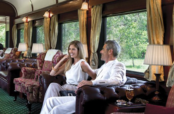 Luxury Train Safari with Rovos Rail