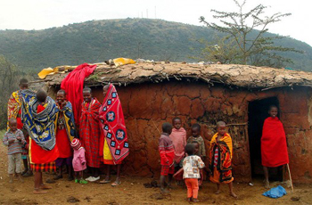 Local Masai Village, Kenya