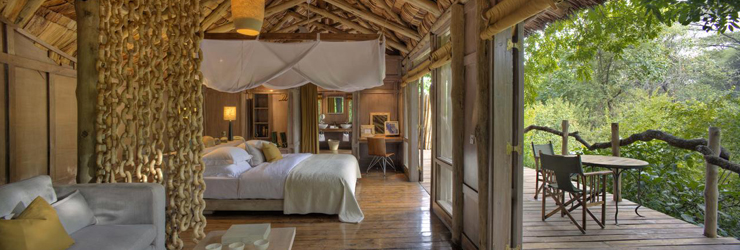 Luxury Tree House Suites at Lake Manyara Tree Lodge