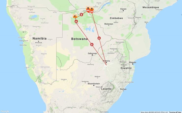 6 Night Victoria Falls & Chobe Safari