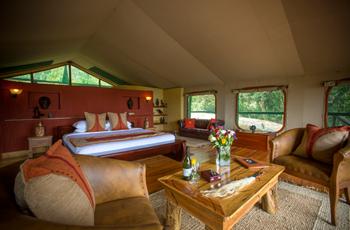 Tent Interior, Mara Engai Wilderness Lodge, Kenya