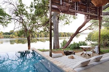 Swimming Pool, Matetsi Victoria Falls, Zimbabwe